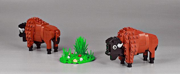 Toy bison