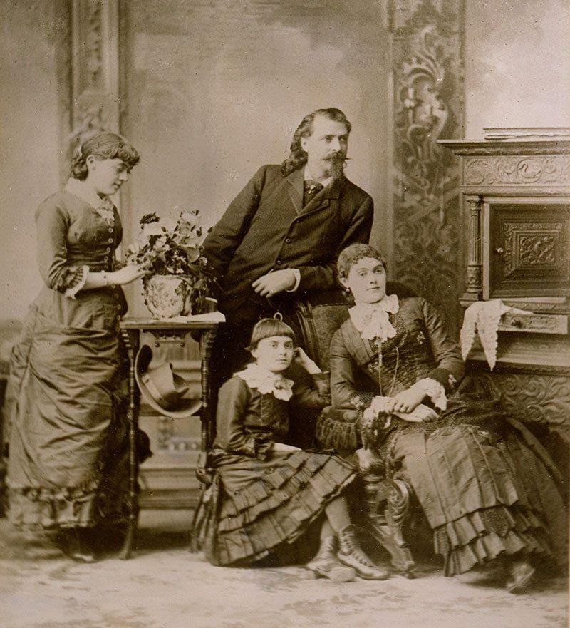Wm F. Cody family